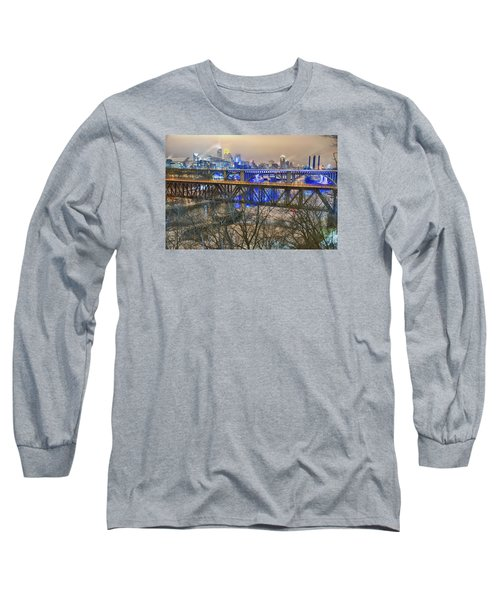 Minneapolis Bridges Long Sleeve T-Shirt by Craig Voth