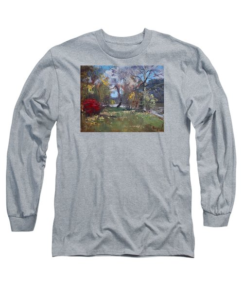 Mixed Weather In A Fall Afternoon Long Sleeve T-Shirt by Ylli Haruni