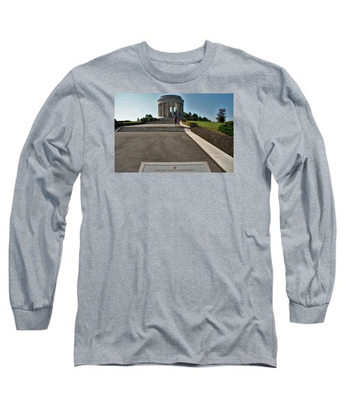 Long Sleeve T-Shirt featuring the photograph Montsec American Monument by Travel Pics