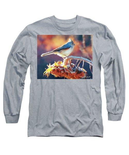 Morning Glow Long Sleeve T-Shirt by Ken Everett