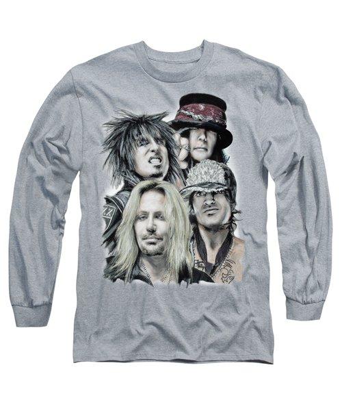 Motley Crue Long Sleeve T-Shirt by Melanie D
