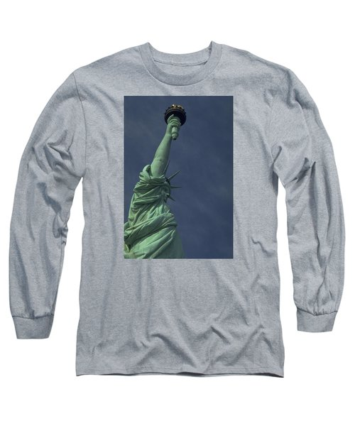 Long Sleeve T-Shirt featuring the photograph New York by Travel Pics