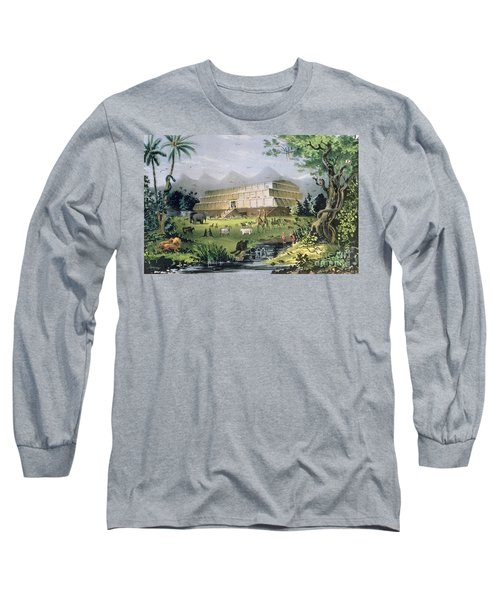 Noahs Ark Long Sleeve T-Shirt by Currier and Ives