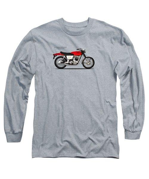 Norton Commando Fastback Long Sleeve T-Shirt by Mark Rogan