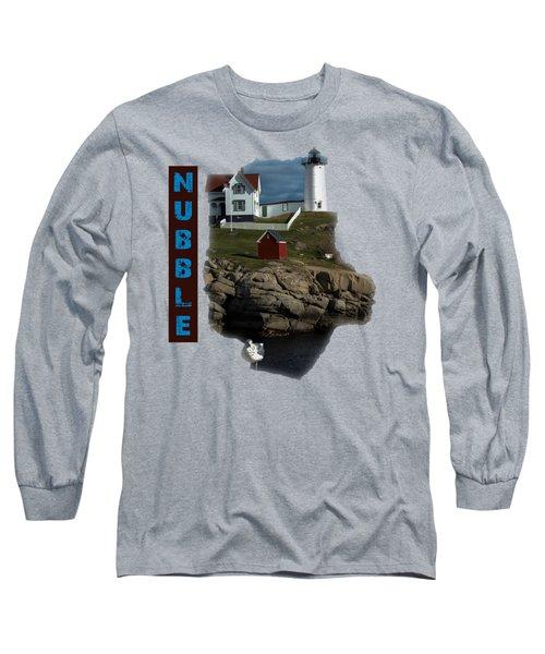 Nubble T-shirt Long Sleeve T-Shirt by Mim White