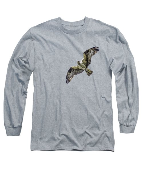 Osprey Overhead Long Sleeve T-Shirt by Nick Collins
