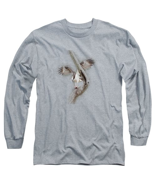 Osprey Tee-shirt Long Sleeve T-Shirt by Donna Brown