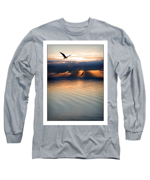 Ospreys Long Sleeve T-Shirt by Mal Bray