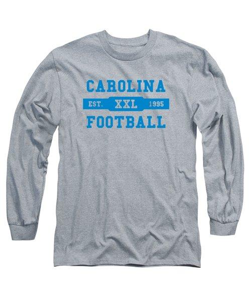 Panthers Retro Shirt Long Sleeve T-Shirt by Joe Hamilton