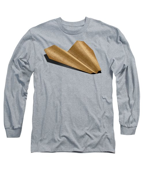 Paper Airplanes Of Wood 6 Long Sleeve T-Shirt by YoPedro