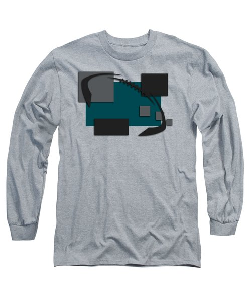Philadelphia Eagles Abstract Shirt Long Sleeve T-Shirt by Joe Hamilton