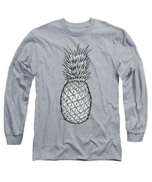 Pineapple Long Sleeve T-Shirt by Dylan Helman