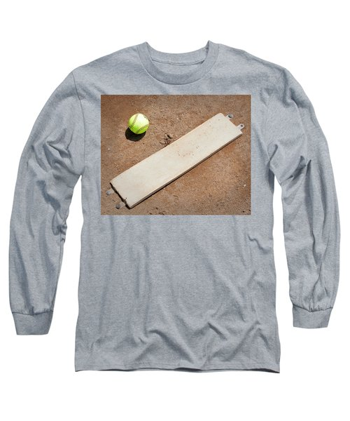 Pitchers Mound Long Sleeve T-Shirt by Kelley King