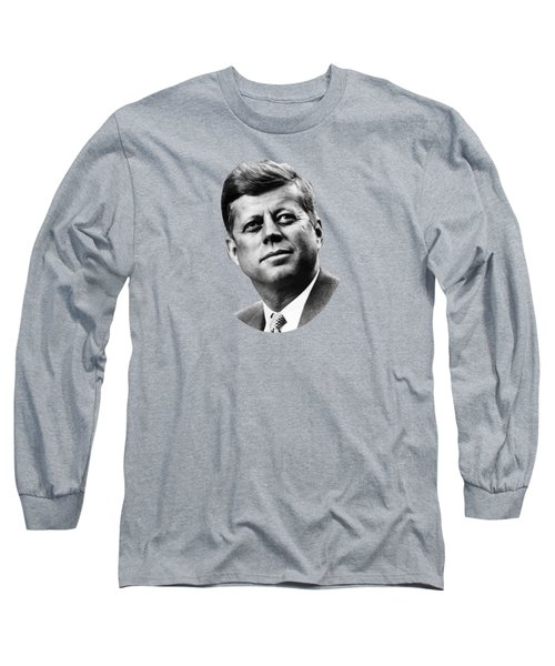 President Kennedy Long Sleeve T-Shirt by War Is Hell Store