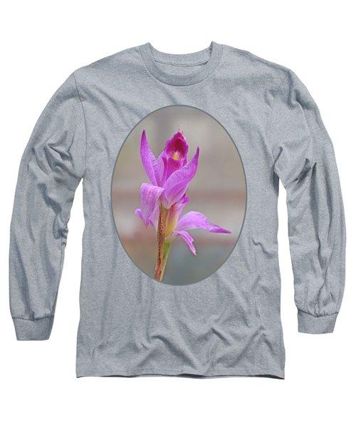Purple Delight Long Sleeve T-Shirt by Gill Billington