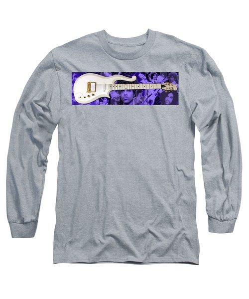 Purple Reign Long Sleeve T-Shirt by Daniel Rojas
