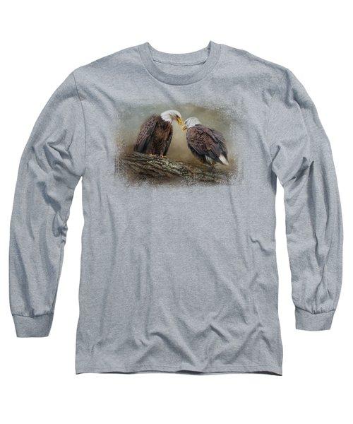 Quiet Conversation Long Sleeve T-Shirt by Jai Johnson