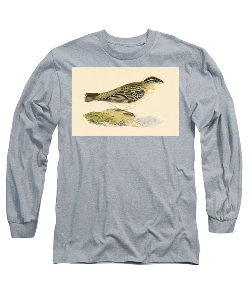 Rock Sparrow Long Sleeve T-Shirt by English School