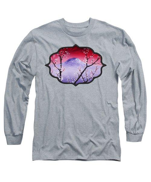 Sakura Long Sleeve T-Shirt by Anastasiya Malakhova
