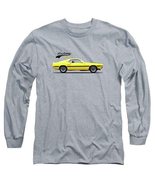 Shelby Mustang Gt350 1969 Long Sleeve T-Shirt by Mark Rogan