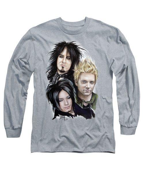 Sixx Am Long Sleeve T-Shirt by Melanie D