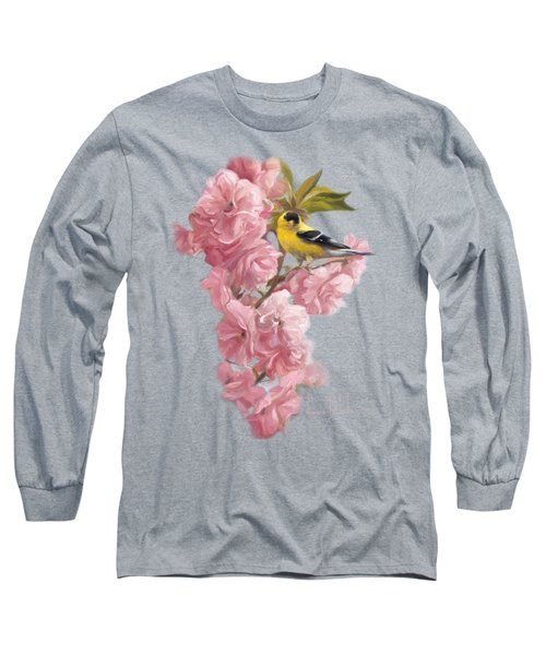 Spring Blossoms Long Sleeve T-Shirt by Lucie Bilodeau
