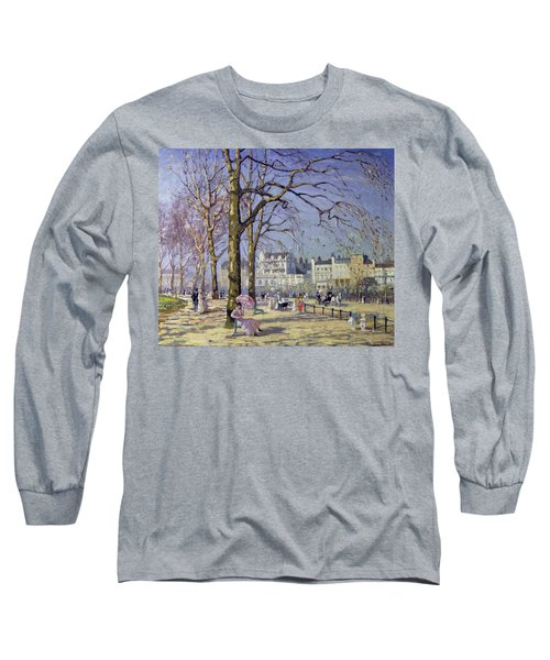 Spring In Hyde Park Long Sleeve T-Shirt by Alice Taite Fanner