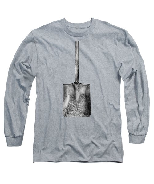 Square Point Shovel Down 3 Long Sleeve T-Shirt by YoPedro