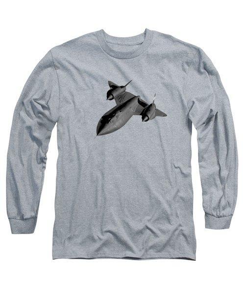 Sr-71 Blackbird Flying Long Sleeve T-Shirt by War Is Hell Store