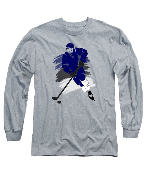Tampa Bay Lightning Player Shirt Long Sleeve T-Shirt by Joe Hamilton