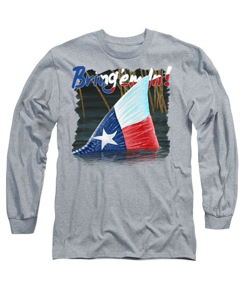 Texas Tails Long Sleeve T-Shirt by Kevin Putman