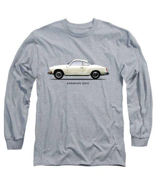 The Karmann Ghia Long Sleeve T-Shirt by Mark Rogan