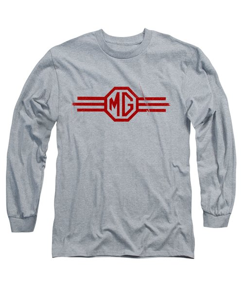 The Mg Sign Long Sleeve T-Shirt by Mark Rogan