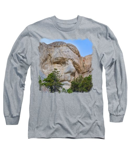 Theodore Roosevelt 3 Long Sleeve T-Shirt by John M Bailey