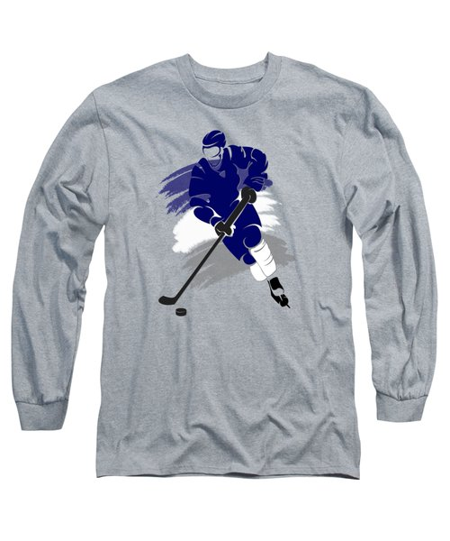 Toronto Maple Leafs Player Shirt Long Sleeve T-Shirt by Joe Hamilton