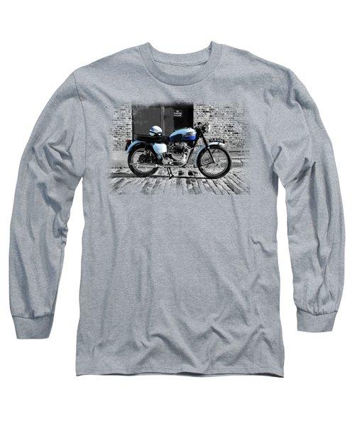 Triumph Bonneville T120 Long Sleeve T-Shirt by Mark Rogan
