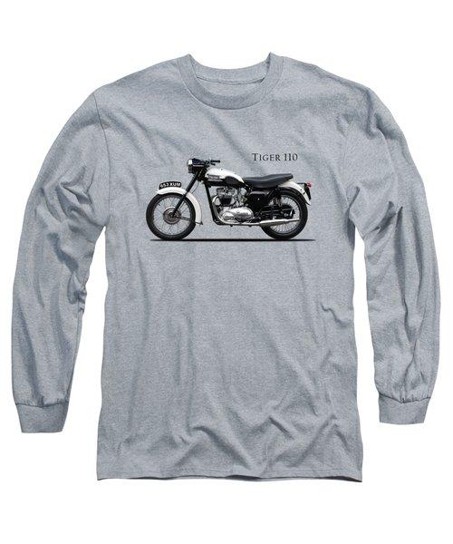 Triumph Tiger 1959 Long Sleeve T-Shirt by Mark Rogan