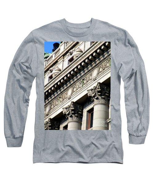 U S Custom House 2 Long Sleeve T-Shirt by Randall Weidner