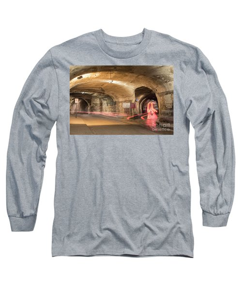 Underground Tunnels In Guanajuato, Mexico Long Sleeve T-Shirt by Juli Scalzi