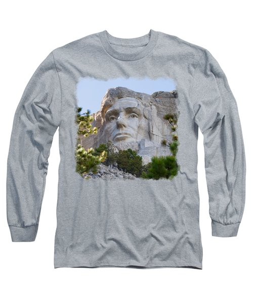 Unfinished Lincoln 3 Long Sleeve T-Shirt by John M Bailey