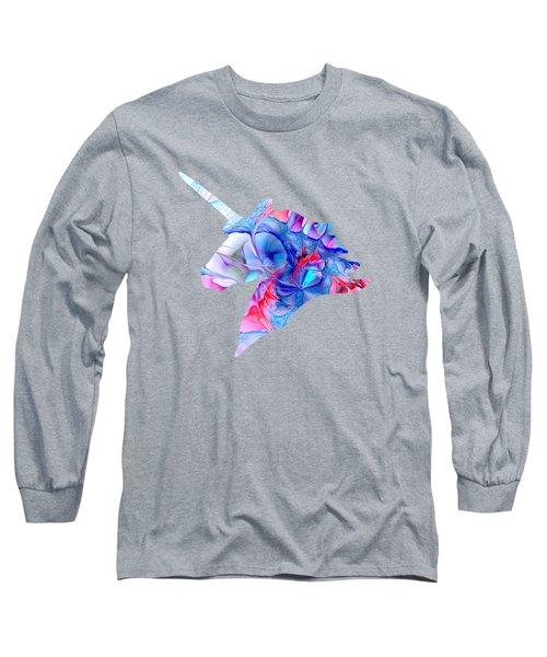 Unicorn Dream Long Sleeve T-Shirt by Anastasiya Malakhova