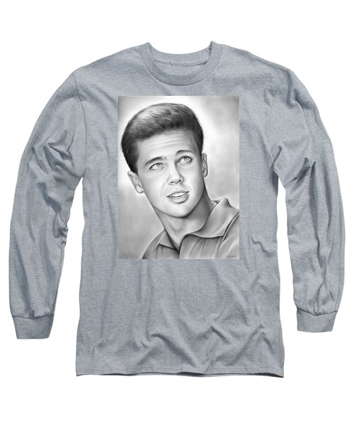 Wally Cleaver Long Sleeve T-Shirt by Greg Joens