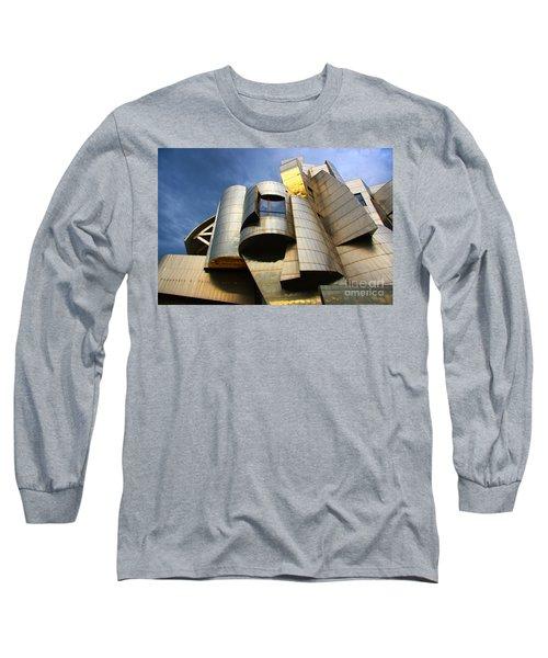Weisman Art Museum University Of Minnesota Long Sleeve T-Shirt by Wayne Moran