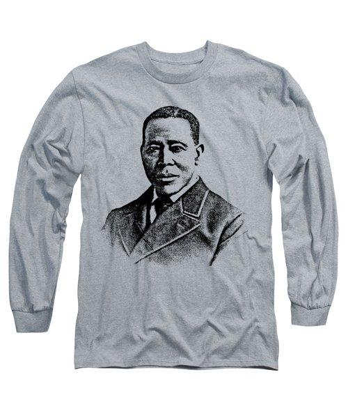 William Still Abolitionist Long Sleeve T-Shirt by Otis Porritt