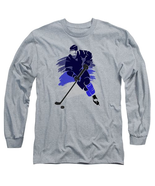 Winnipeg Jets Player Shirt Long Sleeve T-Shirt by Joe Hamilton