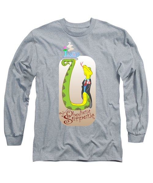 Your Obedient Serpent Long Sleeve T-Shirt by J L Meadows
