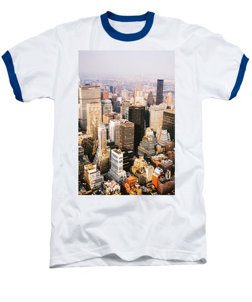 New York City Baseball T-Shirt by Vivienne Gucwa