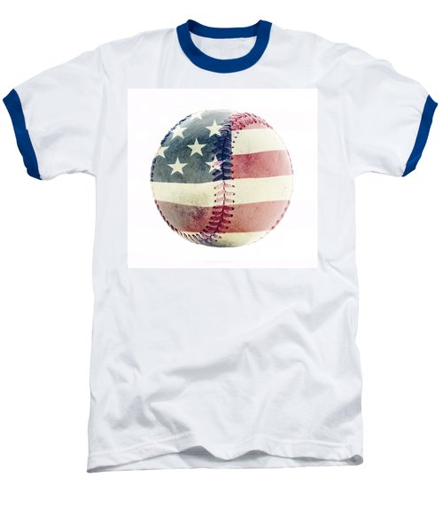 American Baseball Baseball T-Shirt by Terry DeLuco