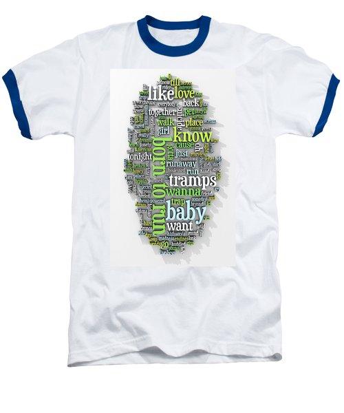 Born To Run Baseball T-Shirt by Scott Norris