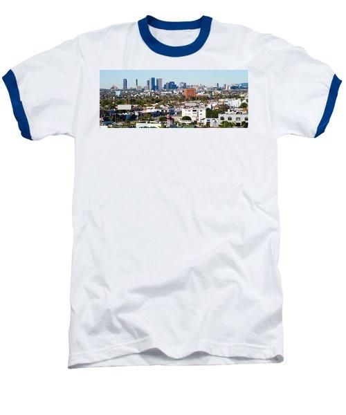 Century City, Beverly Hills, Wilshire Baseball T-Shirt by Panoramic Images